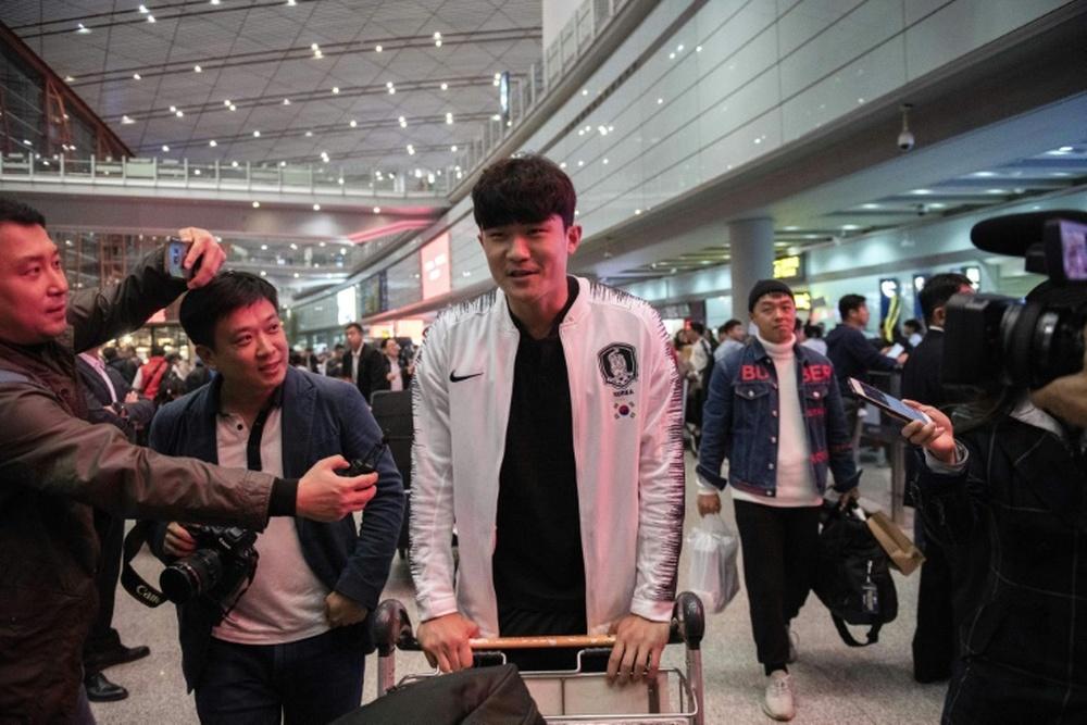 Kim Min-Jae podría aterrizar en el Oporto. AFP