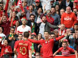 Ronaldo may have to be the hero again on Sunday night. AFP