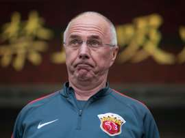 Sven-Goran Eriksson was last in charge of Shenzen F.C. in China. AFP