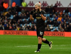 Record breaker Aguero will 'die scoring goals', says Guardiola. AFP