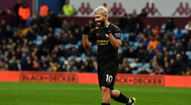 Record breaker Aguero will 'die scoring goals', says Guardiola. AFP