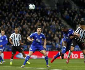 Perez heads Newcastle closer to Premier League safety. AFP