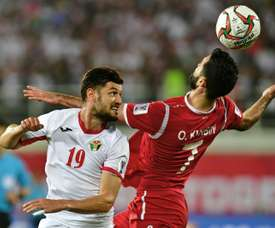 Jordan were the first side to advance to the knockout stages. AFP