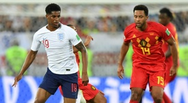 England and Belgium fielded their reserves. AFP
