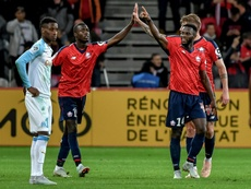An easy win for Lille. AFP