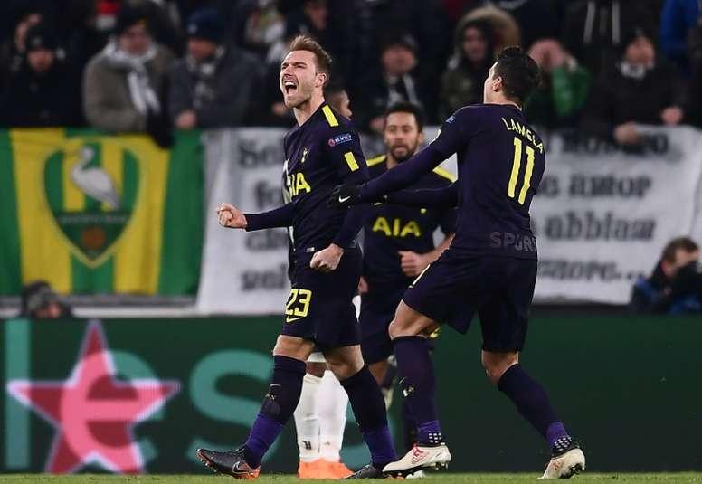 Gran partido del Tottenham ante una dubitativa Juve. AFP