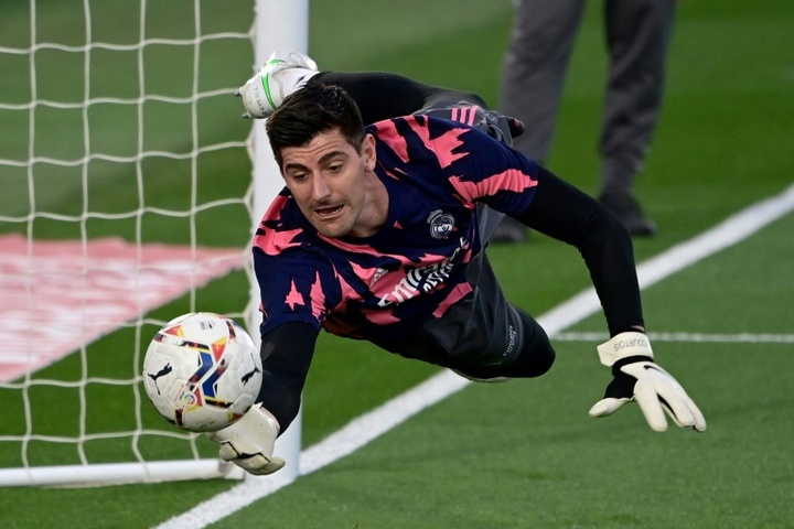 Courtois rinnova con il Real. AFP