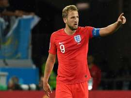 A Inglaterra bateu a Tunísia. AFP