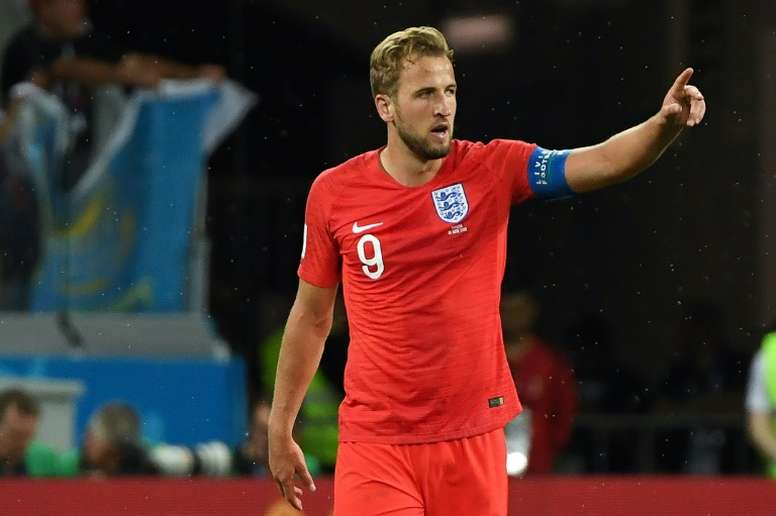 Kane's brace secured victory for Southgate's side. AFP