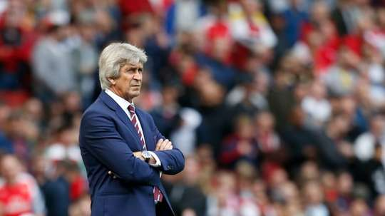 Manuel Pellegrini is unconcerned about the source of his team selection 'leaks'. AFP