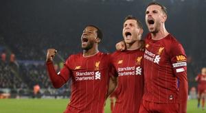 O Liverpool completa um ano sem derrota. AFP