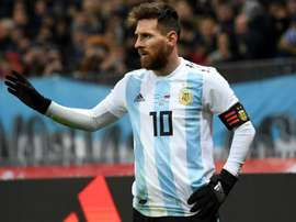 O amistoso entre Argentina e Israel está gerando muita polêmica. AFP