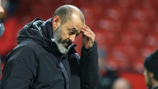 Nuno et les Wolves sont déçus de la VAR. AFP