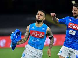 Insigne admits that they have to be careful with Lionel Messi. AFP