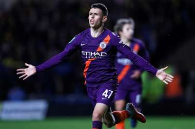 Phil Foden was outstanding as Manchester City beat Oxford United 3-0. AFP