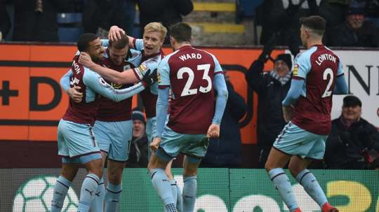 Burnley's players are excited to make their European bow. AFP