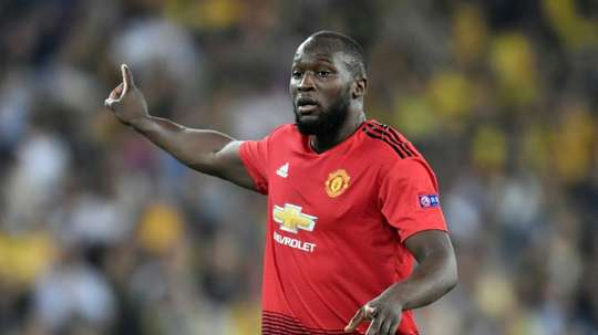 Romelu Lukaku is likely to be involved for Manchester United on Saturday. AFP