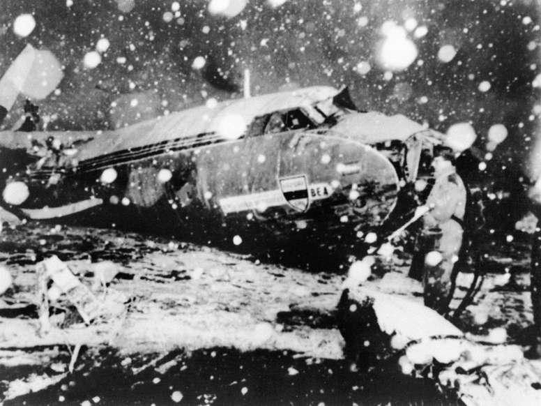 La tragedia de Múnich cumple 60 años. AFP