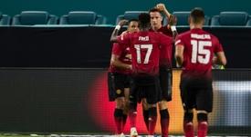 Ander Herrera may struggle to get a renewed contract at Man Utd. AFP