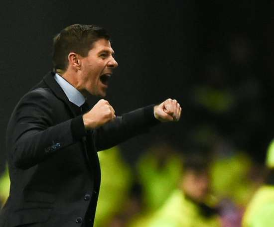 Steven Gerrard's Rangers got back to winning ways against St Mirren. AFP