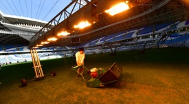 Several World Cup staff in Qatar will be made redundant. AFP
