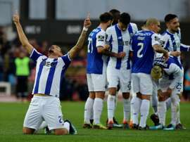 FC Porto defronta o Belenenses esta segunda-feira. AFP