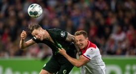 Wolfsburg lament missed chance to go top with Duesseldorf draw. AFP