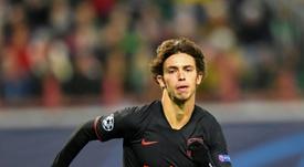 Joao Félix ya está disponible. AFP