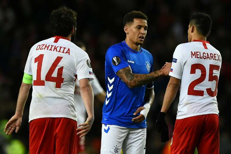 'Imbecile' fan confronts Rangers skipper in stormy draw