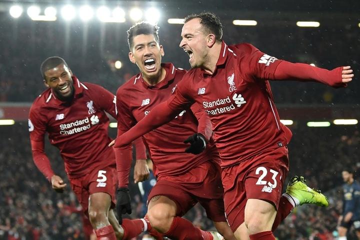 Al Liverpool le 'sobran' nueve jugadores: Shaqiri, Origi, Karius... AFP