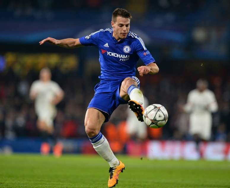 Chelseas Spanish defender Cesar Azpilicueta signed from French side Marseille in 2012. AFP
