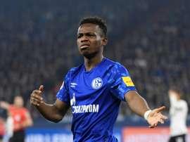 Wales teen Matondo angers Schalke after training in Dortmund shirt. AFP