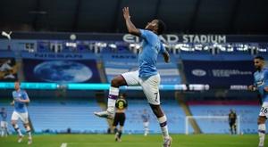 Manchester City passe de nouveau la barre des 100. AFP