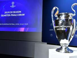 Champions League ready to resume, at long last. AFP