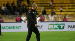Jardim again in firing line at middling Monaco. AFP