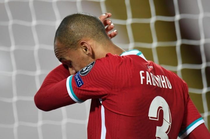 Fabinho renewed with Liverpool. AFP