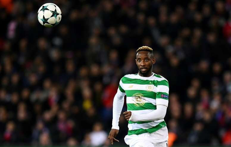 Moussa Dembele has attracted interest from Marseille and Lyon. AFP