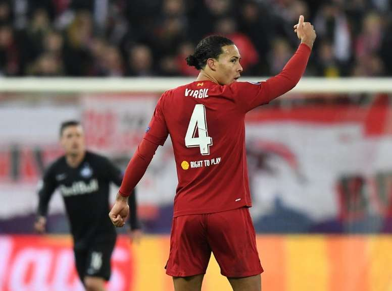 Virgil Van Dijk has started to think about hanging up his boots ...
