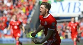 Gales ganó a Eslovaquia. AFP
