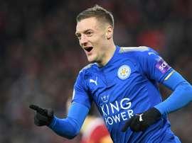 El Leicester, a no fallar ante el Fleetwood. AFP