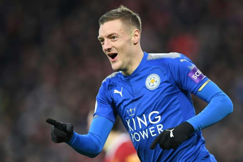 Vardy fit to return against Chelsea. AFP
