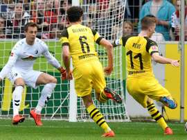 Reus helped his team achieve a crucial win. AFP
