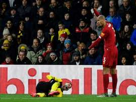 Deulofeu will be out for the season after picking up a serious injury v Liverpool. AFP