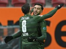 Stuttgart romp to first league win since thrashing Dortmund. AFP