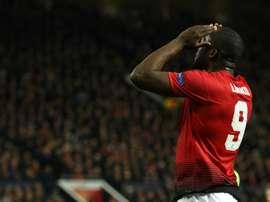 L'Inter connait le prix de Lukaku. AFP