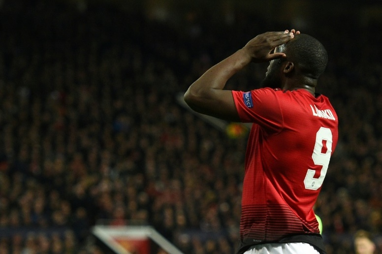Lukaku admits he could leave Utd before next season. AFP