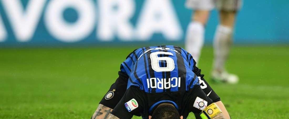 O Torino bateu o Inter por 1-0. AFP