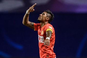 Paulinho quitte la Chine pour l'Arabie saoudite. afp