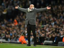 Guardiola has previously expressed his support for VAR. AFP