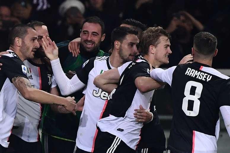 De Ligt avait le choix entre Paris, Turin et Barcelone. AFP